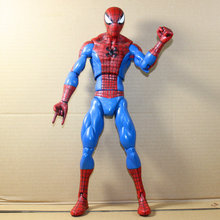 33 cm The Amazing SpiderMan Action Figure Brinquedos Modelo Boneca The Amazing Spider-Man Saco Do Opp Anime Figura de Animação caçoa o Presente H209(China)