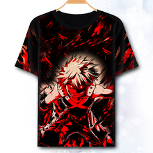New My Hero Academia Cosplay T-shirt Japan Anime Boku no Hero Academia t shirt terylene short sleeve Summer Tops Tees