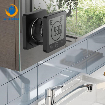 Lcd étanche Douche Montres Minuterie Temp Horloge Murale Accessoires De  Décoration De La Maison Moderne Numérique Salle De Bains Horloges Offre  Spéciale
