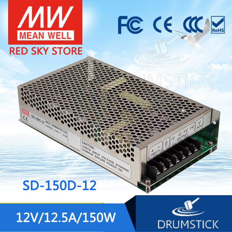 Genuine MEAN WELL SD-150D-12 12V 12.5A meanwell SD-150 12V 150W Single Output DC-DC Converter