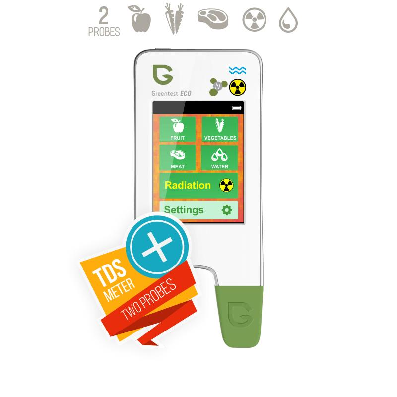 Greentest ECO 5 Food safety detector Food Nitrate Tester Fruits and vegetables + water + radiat Nitrate Detection Health Care safety and health essentials