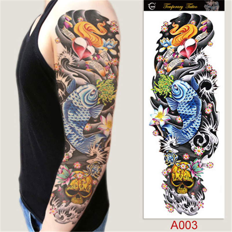 Tatuajes Brazo Entero Hombre Guatelinda