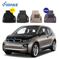 For BMW i3 Car Floor Mats Front Rear Carpet Complete Set Liner All Weather Waterproof Customized Car Styling