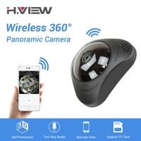 H VIEW 360 CCTV Camera 720P IP Camera Wifi Cameras 960P Camara IP 1200TVL Fisheye Video