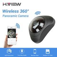 H. VIEW 360 CCTV камера 720 P ip-камера камеры 960 P Camara IP 1200TVL рыбий глаз камера видеонаблюдения s