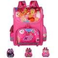 Ortopédico Crianças Escola Bags Para Meninas Novo 2016 Crianças Mochila WINX Mochila Princesa Mochila Escolar Mochilas Monster High