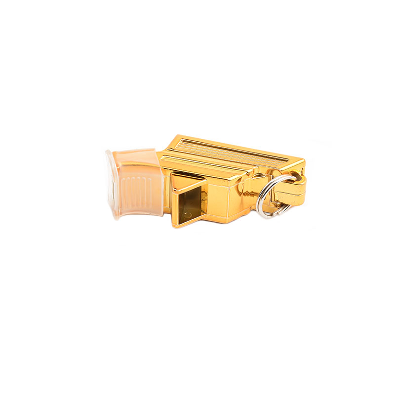 New Gold Soccer Referee Whistle Professional for Sports Coach Basketball Football Police Chearleading Hiking Survival Whistles in Whistle from Sports Entertainment