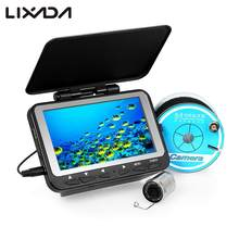 "Lixada 15M / 30M 1000TVL Fish Finder Underwater Ice Fishing Camera 4.3"" LCD Monitor 8 Infrared IR LED Night Vision Camera(China)"