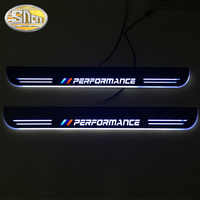 LED Door Sill Scuff Plate Guards Door Sill for BMW X5 X6 F20 F30 E90 E91 F45 F10 E60 E70 E71 X3 X4 Z4 E89 Streamer dynamic pedal