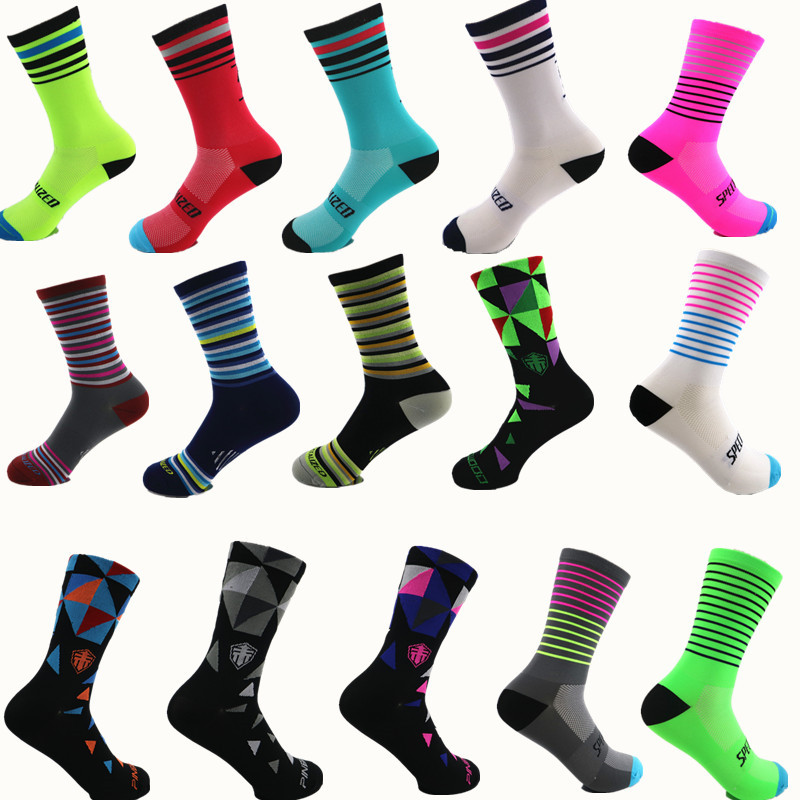 2020 Outdoor Sport Cycling Running Socks Breathable Coolmax Basketball Football Socks High Quality