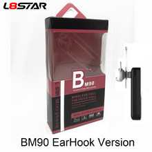 Newest 2019 BM90 BM10 Mini Telephone Super Small Phone Sport Bluetooth Earphones Wireless Headphones Cellphone SIM L8star Gtstar(China)