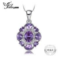 JewelryPalace 4.6ct Gecreëerd Alexandriet Sapphire Hanger 925 Sterling Zilveren Fijne Accessoires Exclusief Een Chain hot selling