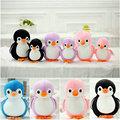 Милый пингвин плюшевые игрушки 20-40 см набивные Наночастицы животные подарок на день рождения Детские игрушки черный/синий/розовый/фиолетовый - фото