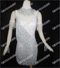 Latin dance/Waltz Tango Ballroom Dance Dress,Girls/Women Modern Dance/Perform Costume/Wear LD-0024