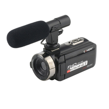 KOMERY Z9 Camcorder 1080P Video Camera 16X Digital Zoom 3.0 Inch Touch Screen WIFI 2400W Pixels Portable Camera With Microphone ouhaobin video camcorder 1080p fhd night vision 16x zoom wifi digital video camera hdmi touchscreen portable lcd hdv cam dec4