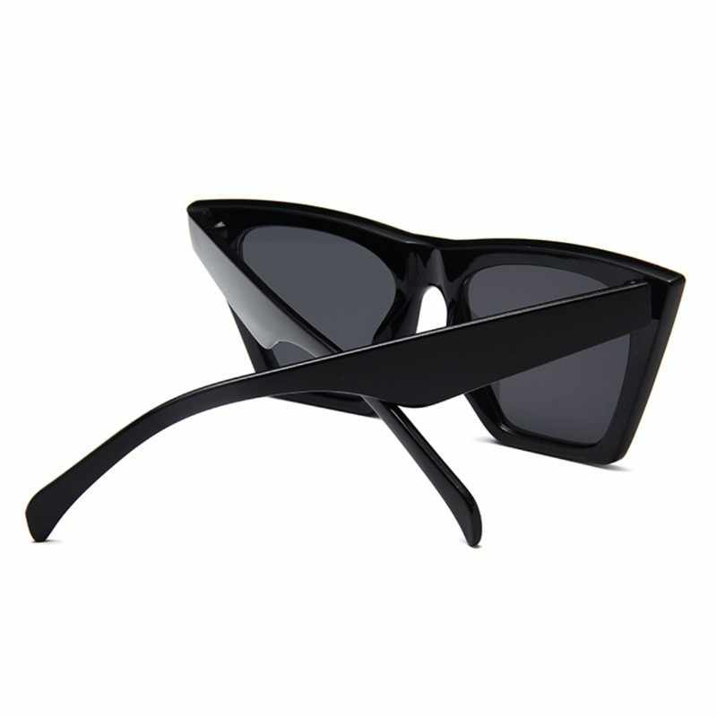 แฟชั่นสแควร์แว่นตากันแดดผู้หญิงDesigner Luxury Man/ผู้หญิงCat Eyeแว่นตากันแดดClassic Vintage UV400กลางแจ้งOculos De Sol