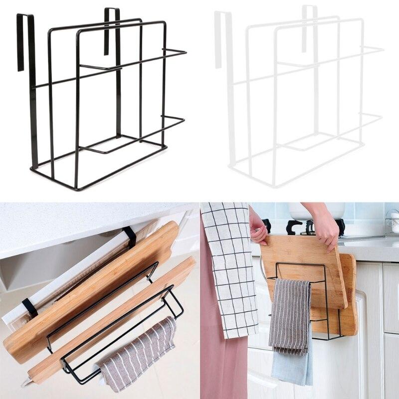 Под шкафом кухонная полка над дверью подвесная стойка разделочный держатель разделочной доски подставка для выпечки Посуда органайзер для...