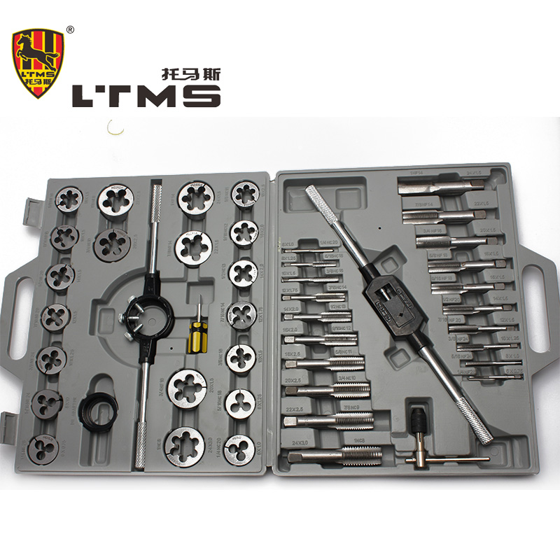 45PCS/SET Alloy Steel Screw Die Threading Tool Filettatura Metrica Screw Tap Set Herramienta De Mano Diagnostic tool Tap Die Set электрический чайник scarlett sc ek14e04