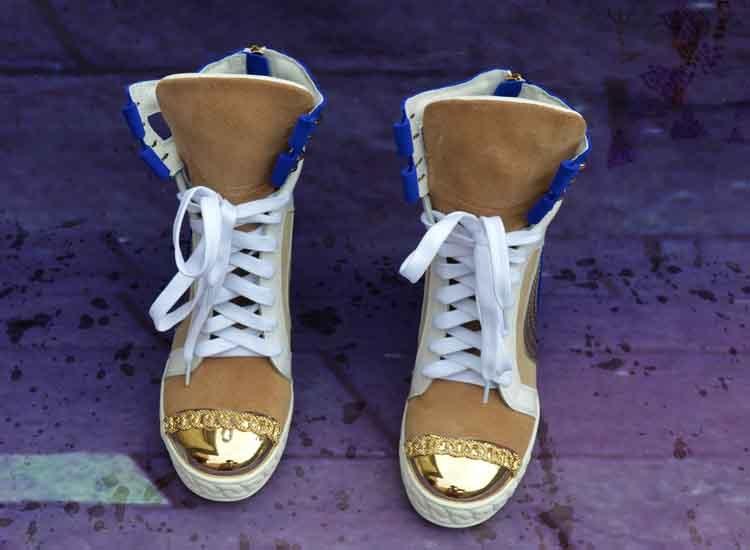Chaussures Show Casual En Creux Lace Hauteur Des Nouveau Cuir Botas Croissante As Bleu Mode De Femme Bottes Plate Femmes forme up Zipper Wedge BZqwd8zxq