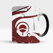 Naruto Sasuke color changing mugs coffee tea mugs