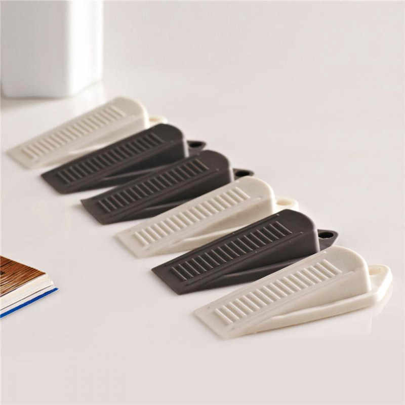 Rubber Wedge Door Stop Stopper Holder Guard Baby Safety Protector Kids Security