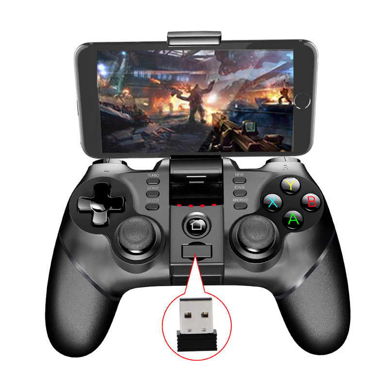 IPEGA Android Gamepad für PC Joystick 2,4G Bluetooth Drahtlose Griff Gamepad für Sony PS3 IOS Smartphone Game Controller 9076