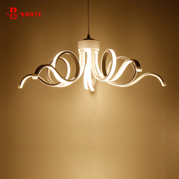 modern led chandelier remote control lustres para sala de jantar chandeliers ceiling bedroom hanging lamp nordic light fixtures