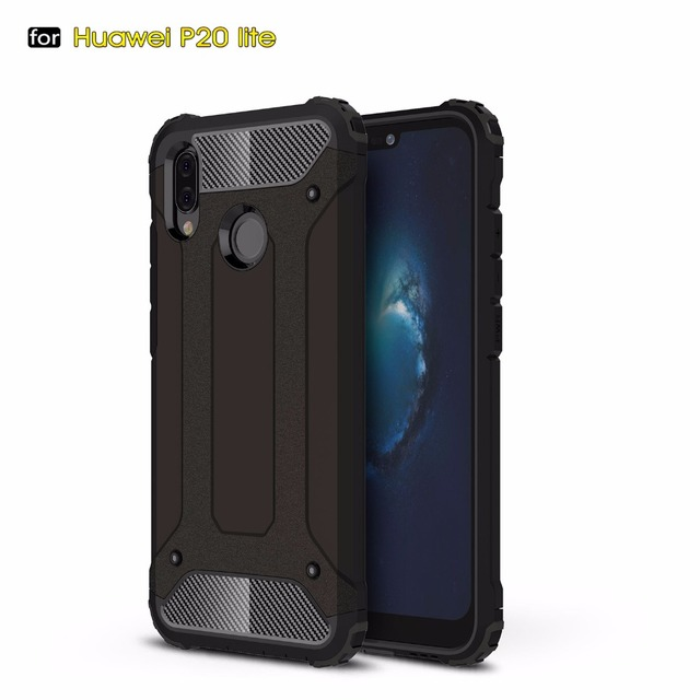 BYHeYang For Huawei P20 Lite Case Huawey P 20 Lite Case Armor Rubber Silicone Phone Case On P20 Lite Shell For Huawei Nova 3E