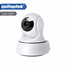 1.0MP WI-FI IP Камера Беспроводной ИК-ночного видения двухстороннее аудио HD 720 P PTZ CCTV Камеры Скрытого видеонаблюдения P2P Облако мобильное приложение просмотра