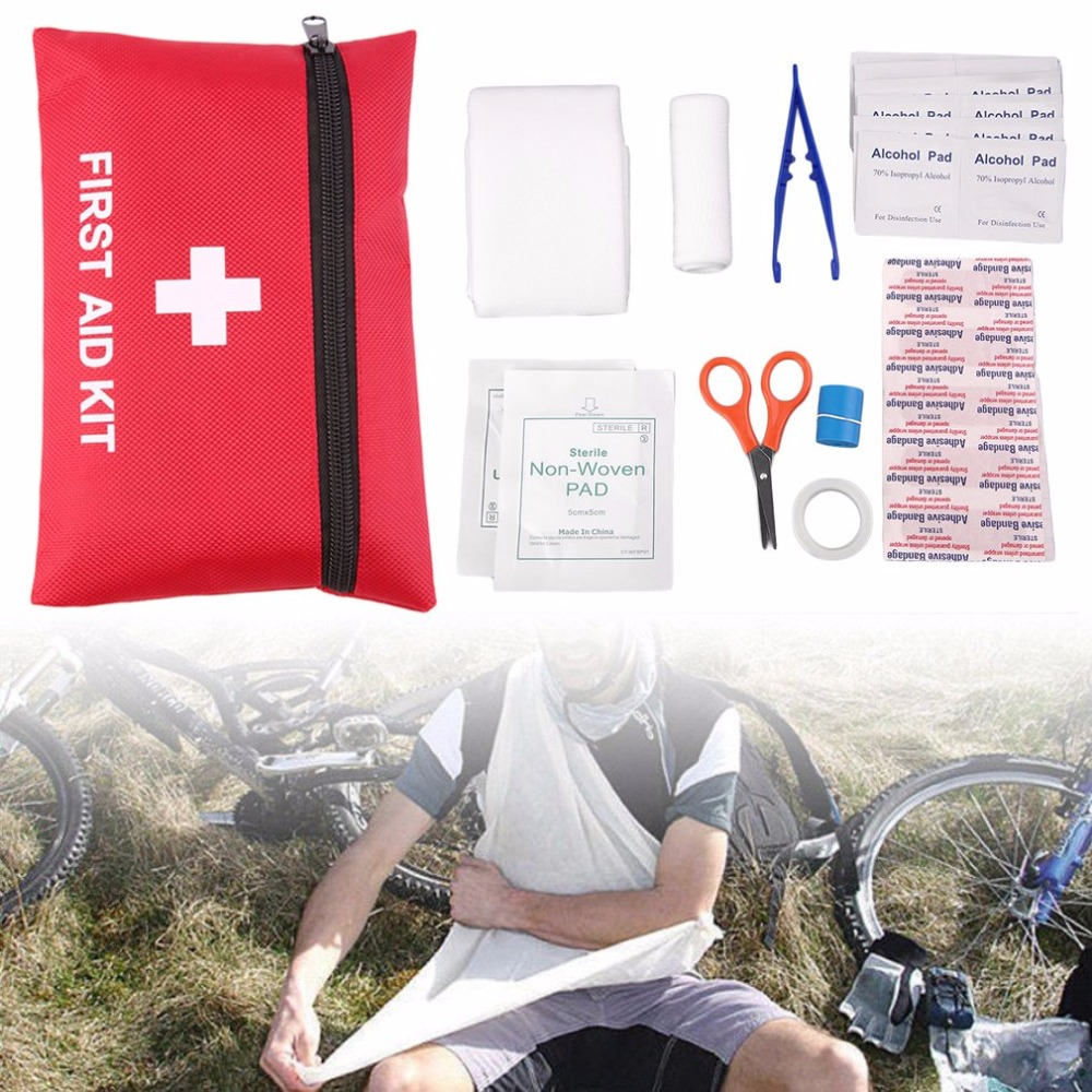 Medical Emergency Survival First Aid Kit Safety Outdoor Sport Travel Camping Rescue Treatment Pack Full Set Of First Aid Tools