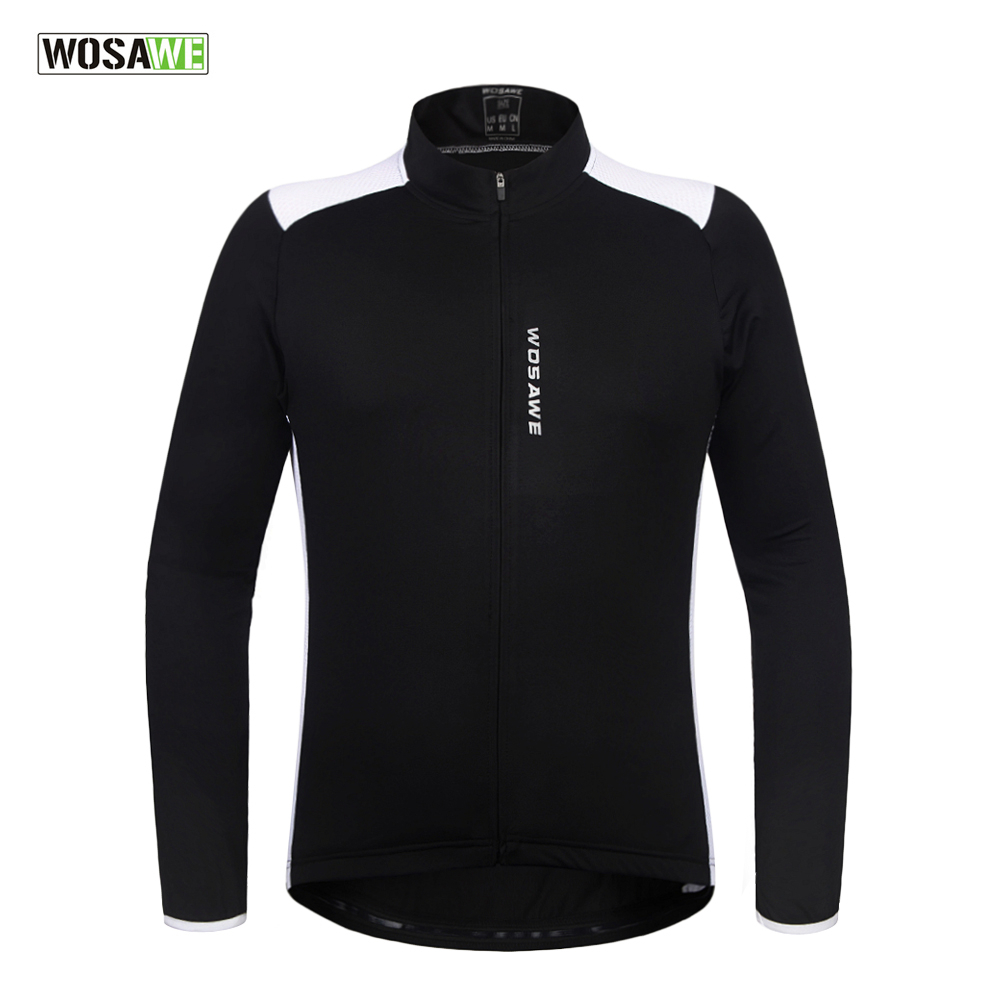 Cycling Jersey Long Sleeve Breathable MTB Bike Riding Wear Long Sleeve Men Women Bicycle Riding Jersey Elastic 100% POLYESTER
