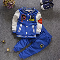 Desgaste do Inverno do Natal das crianças Terno do Menino do Menino Novo Estilo Sports Outfit Menina Adicionar Roupas Grossas das Crianças boné de Beisebol roupas G-18
