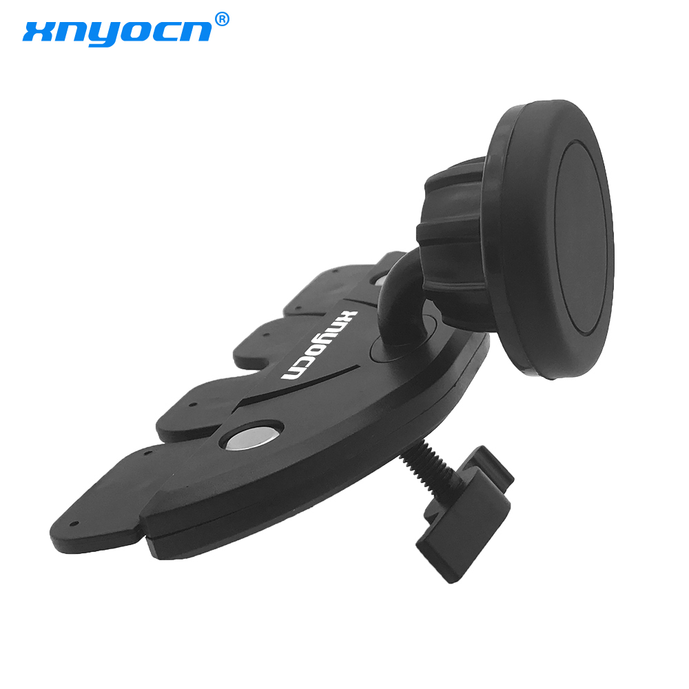 Universal Car Mount Cradle Candle Holder Magnetic Phone Holder CD Slot Mobile Phone Holder with Strong Magnet Mobile Holder