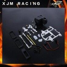 Система рулевого управления с пластиковый корпус батареи Upgrade Kit для HPI Baja 5B 5 т 5SC