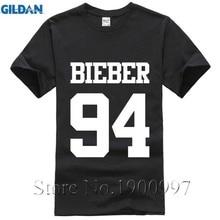 2017 di modo di Justin Bieber 94 t Shirt Mens Boy T-Shirt roccia Stampa  Cotone streetwear top Tee top pp marchio di abbigliament. 9828c39f97a8