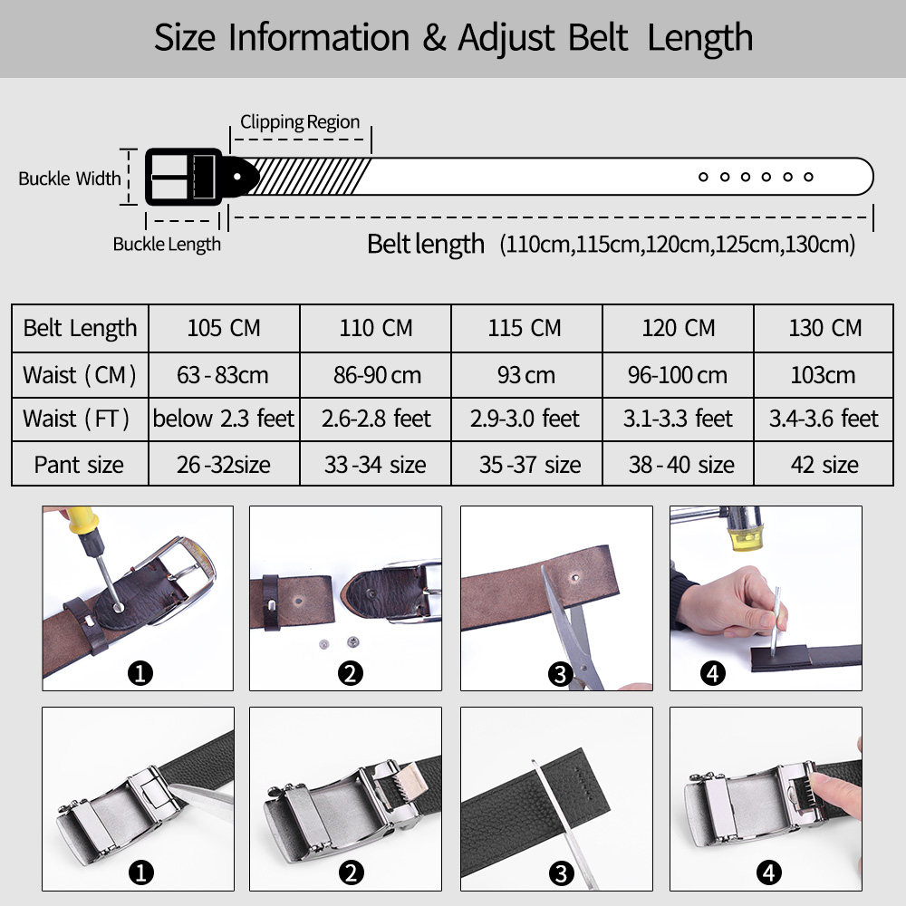 Image 5 - men belt cow genuine leather designer belts for men high quality fashion vintage male women strap for jeans cow skinMens Belts   -