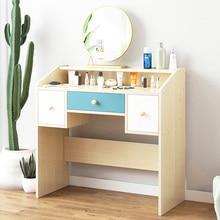 Мебель для спальни деревянные комоды с ящиком косметический Органайзер шкаф для хранения ноутбука модный туалетный столик для женщин