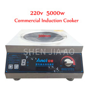 Commercial Concave Induction Cookers 5000W High Power 220V 50/60hz Induction Cooker Hotel Concave Induction Cooker