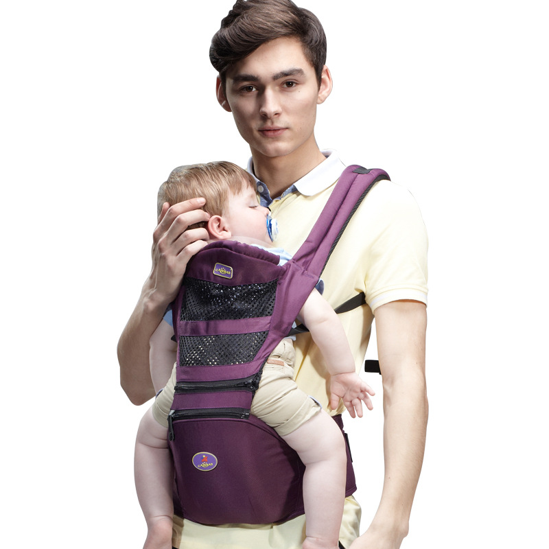 Breathable Ergonomic Baby Carrier Backpack Portable Infant Baby Carrier Kangaroo Hipseat Heaps Baby Sling Carrier Wrap Load 20KG breathable baby carrier backpack portable infant newborn carrier kangaroo hipseat heaps sling carrier wrap