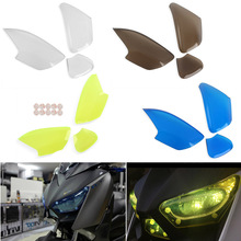 Front Headlight Screen Lens Cover Protector Guard for 2017-2018 Yamaha Xmax 300 250 17-18