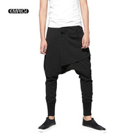 Mens Joggers Cargo Men Low Crotch Pants Trousers Sweatpants Harem Pants Men Cross Pants Men Pantalones Hombre A1