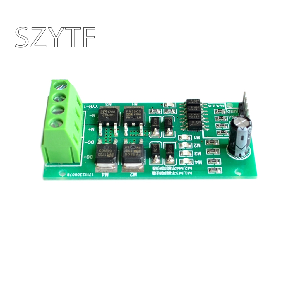 Dc Motor Drive Module Board H Bridge High Power Forward And Reverse Circuit Diagram With Brake Pwm Speed Regulation 5 12 24v In Integrated Circuits From Electronic Components