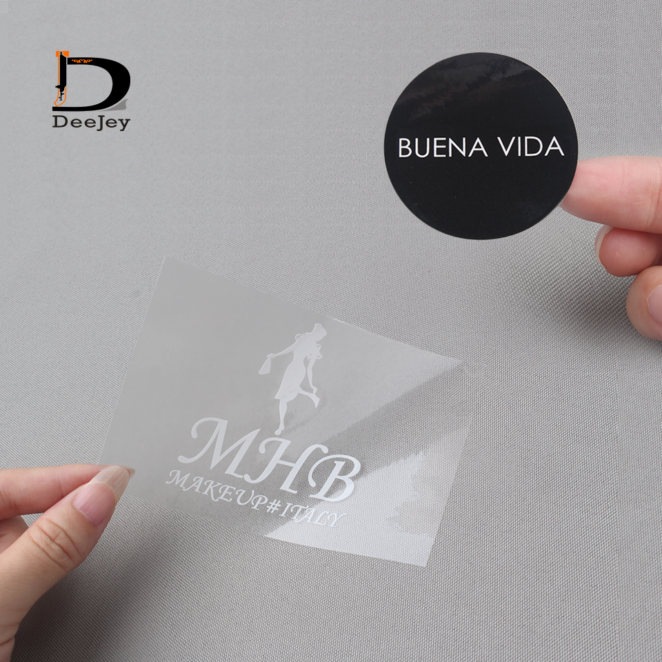 Us 41 4 8 offaliexpress com buy custom name or logo printed art paper self adhesive sticker labels film tags custom shape transparent stickers