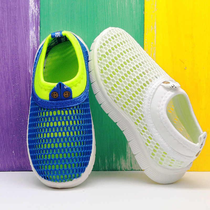 ร้อนลายเด็กรองเท้าสบายๆรองเท้าสำหรับสาว Trainer ชาย SapatoTenis Infantil เด็กรองเท้าสบายรองเท้าผ้าใบเด็ก 48
