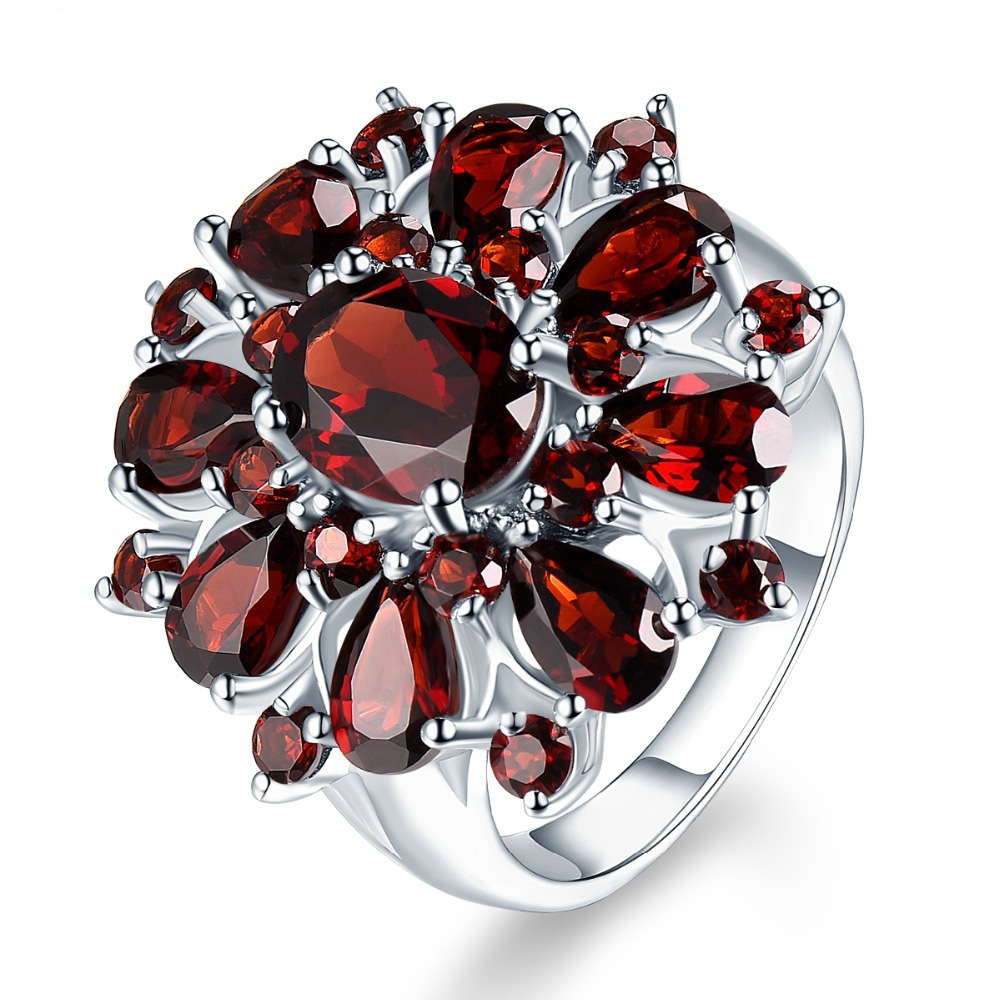 Ring fashion pomegranate ring  engagement ring(China)