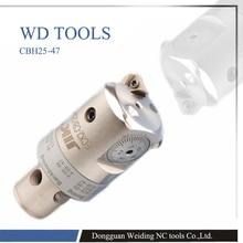 Cabezal de taladrado CBH, 25 47mm, BT40 LBK2 85, LBK, acabado CBH, cabezal de taladrado para taladrar agujeros