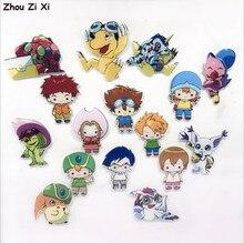 Cartoon creation Digimon Adventure refrigerator magnet stickers toys