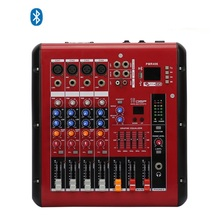 Amplifier Audio Powered Mixer 4 Channel Professional Mixing PMR406 For Speaker and Microphone