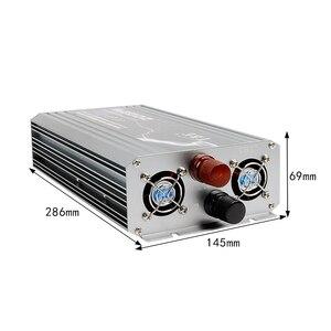 Image 5 - New Arrive 2000W Power Inverter 12V DC 220V Pure Sine Wave USB to AC 220V Solar Power Inverter Peak Power 4000W Free Shipping