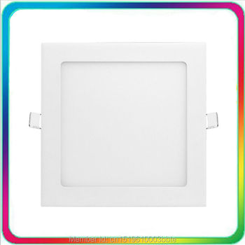 3 Years Warranty 100-110LM/W 175x175mm 12W LED Downlight Square LED Down Panel Light Recessed Ceiling Spotlight Bulb